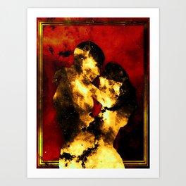 Flammis Amoris Art Print