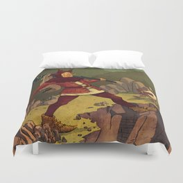 the Fool Duvet Cover