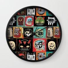 Headhunter outlanders  Wall Clock