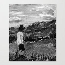 Gazing Over the Tatras - Acrylic Canvas Print
