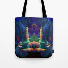 Sea Creature #2: The Shy Snailman Tote Bag