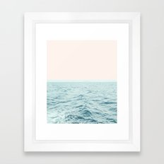 Sea Breeze #society6 #decor #style #tech Framed Art Print