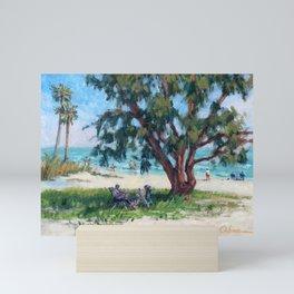 Made in the Shade — Sarasota, Florida Mini Art Print