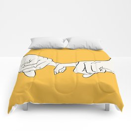 HANDS 5 Comforters
