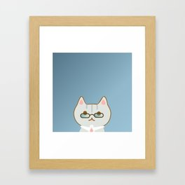 Mewta-kun Framed Art Print