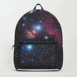 Orion's belt in the winter sky, stars Alnitak, Alnilam, Mintaka, Horsehead Nebula, Orion Nebula Backpack