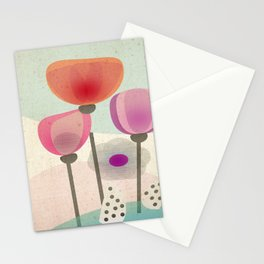 Naive Blooms Stationery Cards
