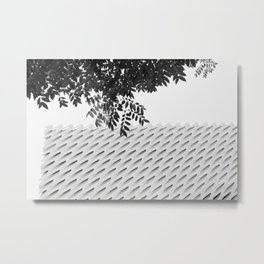 The Broad In the Afternoon Black & White Photography II Metal Print