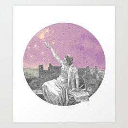 Torch the Sky Art Print