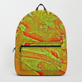 Bloody-Nature Abstract Backpack