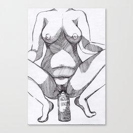 GraffWhore Canvas Print