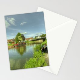 Hungerford Wharf Fishing Stationery Cards