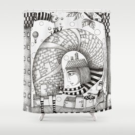 There will be Nonsense in it Shower Curtain