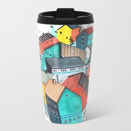 Tumble Town  Metal Travel Mug