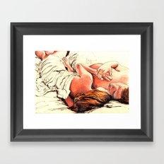 Origin of Love #7  Framed Art Print