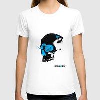 kraken T-shirts featuring Kraken by Madera Arts
