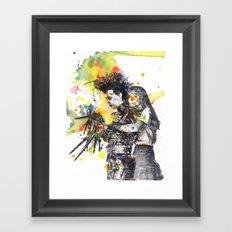 Edward Scissor Hands Framed Art Print