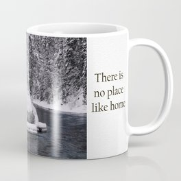 Winter In Lapland Finland Coffee Mug