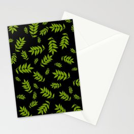 Falling Ash Leaves At Dusk Stationery Cards