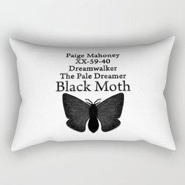 DREAMWALKER - THE PALE DREAMER - BLACK MOTH Rectangular Pillow