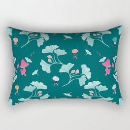 Ginkgo Midori Rectangular Pillow
