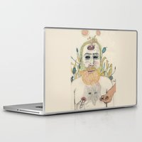 men Laptop & iPad Skins featuring three men by Édgar MT