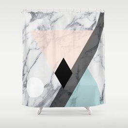 Paste Elle Shower Curtain
