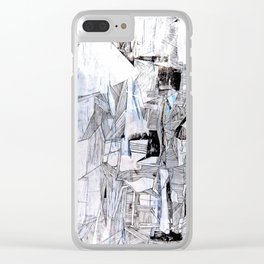 Distant Folding Clear iPhone Case