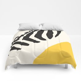 Zebra Abstract Comforters