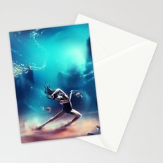 Dancing Zodiac Pisces Stationery Cards