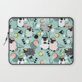 Mééé Memphis sheep // mint background Laptop Sleeve