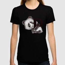 P panda T-shirt