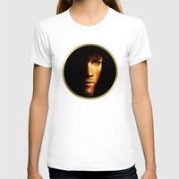 sam winchester T-shirts featuring Sam Winchester / Supernatural - Painting Style by ElvisTR