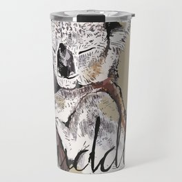 koala cuddle Travel Mug