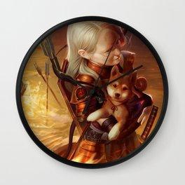 Inferno Archer Wall Clock