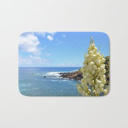 Yucca Flowers In The Azores Bath Mat