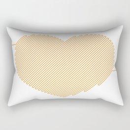 Heart Circuit Rectangular Pillow