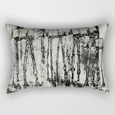 Star Wars At-At Herd by Andy Walsh Rectangular Pillow