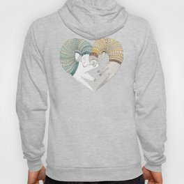 Ferret Sleep Love Hoody