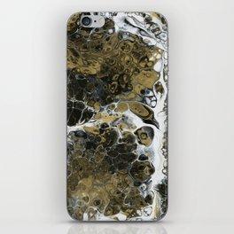 Team Splash, Black and Gold iPhone Skin