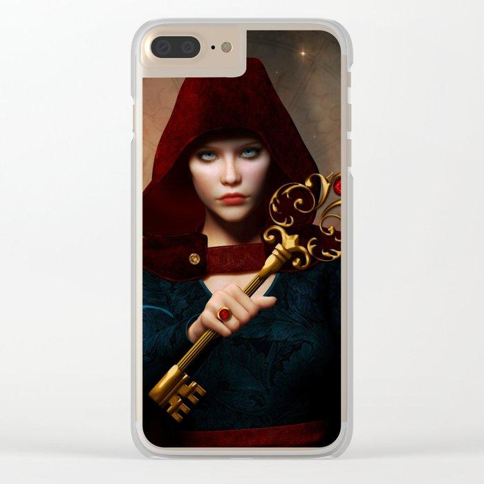 Key of wisdom Clear iPhone Case