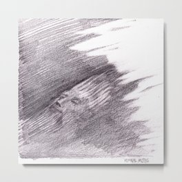The Sunken King (Nigel Wright) Metal Print