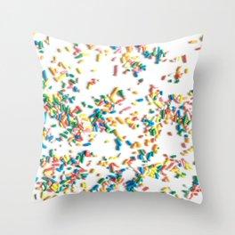 Confetti fun! Throw Pillow