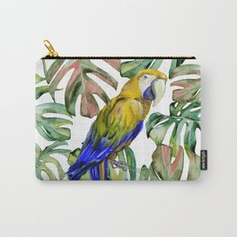 PARROT IN THE JUNGLE Carry-All Pouch