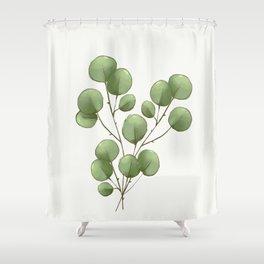 Eucalyptus Branch 2 Shower Curtain