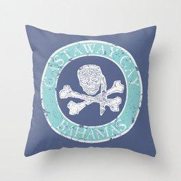 Castaway Pirate Throw Pillow