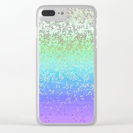 Glitter Star Dust G242 Clear iPhone Case