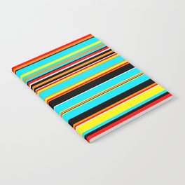 Stripes-017 Notebook