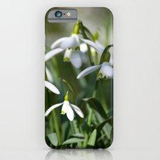 Floral Snowdrops! Slim Case iPhone 6s