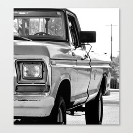 I Side With The Truck Canvas Print